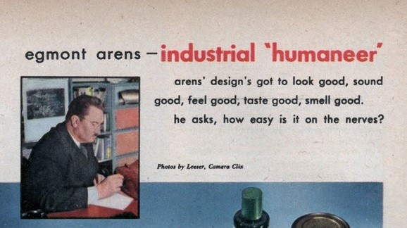 Egmond Arens - Industrial humaneer, Mechanix Illustrated, dec. 1946, courtesy of Prelinger Archive